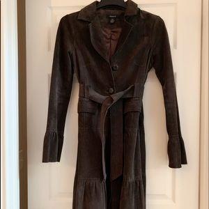 Arden B Leather Coat